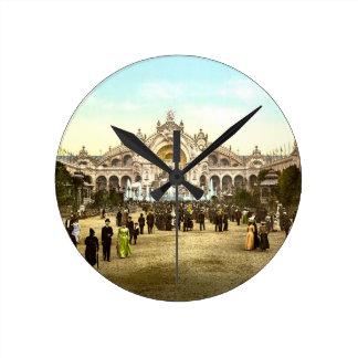 Vintage Paris Exposition of 1900 Wallclock