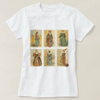 Vintage Paris Fashion - Medieval T-Shirt