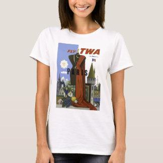Vintage Paris France Fashion Travel T-Shirt