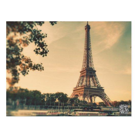 Vintage Paris France Postcard