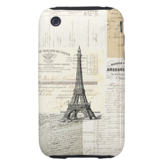Vintage Paris French Ephemera Case