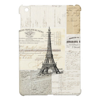 Vintage Paris French iPad Mini Case