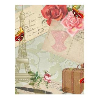 Vintage Paris Graphics Full Color Flyer