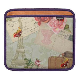 Vintage Paris Graphics iPad Sleeve