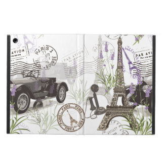 Vintage Paris iPad Air Cover