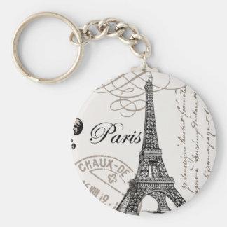 Vintage Paris...keychain Keychain