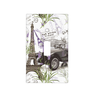 Vintage Paris Light Switch Cover