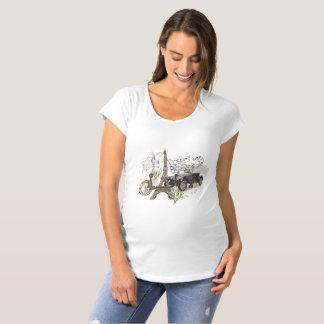 Vintage Paris Maternity T-Shirt