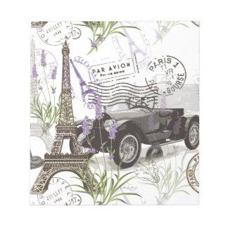 Vintage Paris Notepad