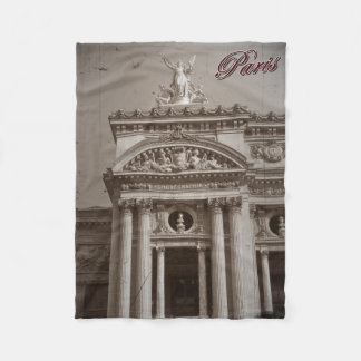 Vintage Paris: Paris Opera Fleece Blanket