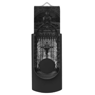 Vintage Paris royal chapel altar St James Palace Swivel USB 3.0 Flash Drive