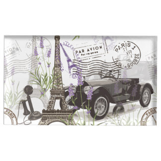 Vintage Paris Table Number Holder