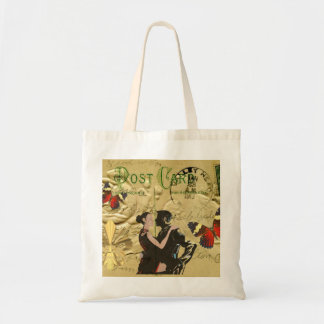 Vintage Paris Tango post card Bag