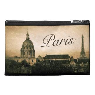 Vintage Paris Travel Accessory Bag