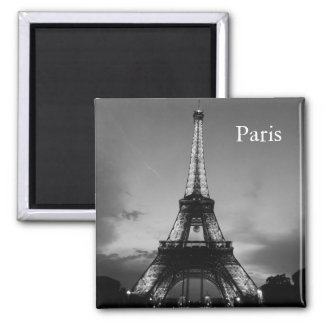 Vintage Paris Travel Tourism Square Magnet