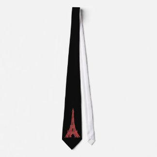 Vintage Paris White Tower Black Tie