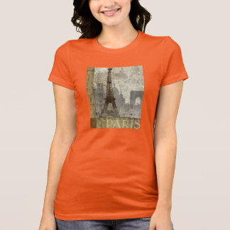Vintage Paris Womens Shirt