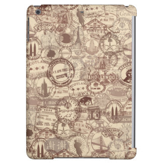 Vintage Passport Stamps iPad Case