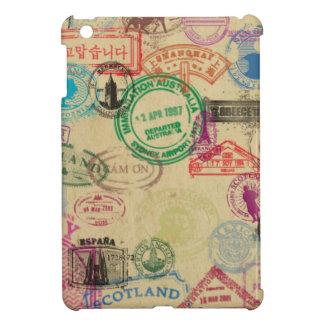 Vintage Passport Stamps iPad Mini Case