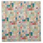 Vintage Patchwork Print Napkin Set