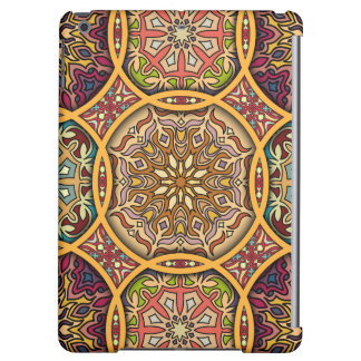 Vintage patchwork with floral mandala elements case for iPad air