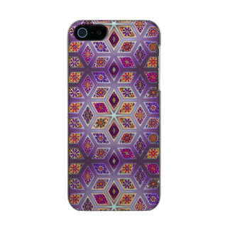 Vintage patchwork with floral mandala elements incipio feather® shine iPhone 5 case