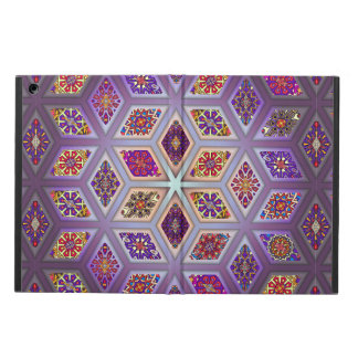 Vintage patchwork with floral mandala elements iPad air case