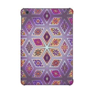 Vintage patchwork with floral mandala elements iPad mini retina covers