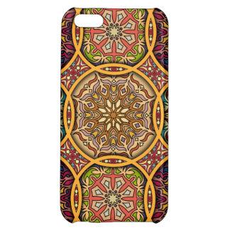 Vintage patchwork with floral mandala elements iPhone 5C cases
