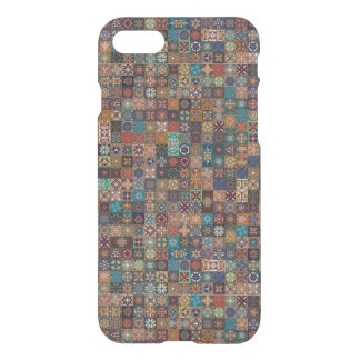Vintage patchwork with floral mandala elements iPhone 8/7 case