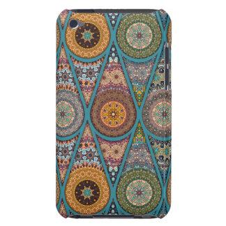 Vintage patchwork with floral mandala elements iPod Case-Mate cases