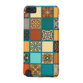 Vintage patchwork with floral mandala elements iPod touch 5G covers