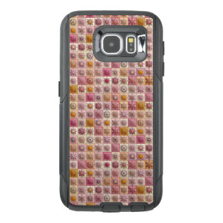 Vintage patchwork with floral mandala elements OtterBox samsung galaxy s6 case