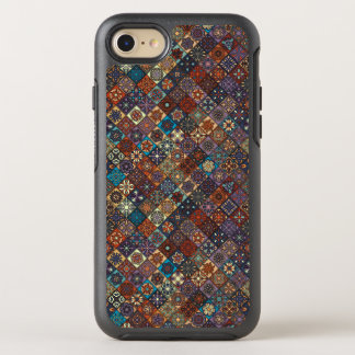 Vintage patchwork with floral mandala elements OtterBox symmetry iPhone 7 case