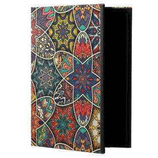 Vintage patchwork with floral mandala elements powis iPad air 2 case
