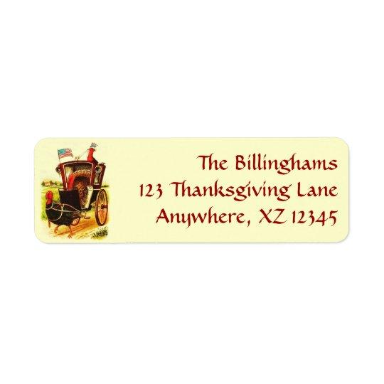 Vintage Patriotic Thanksgiving Turkeys