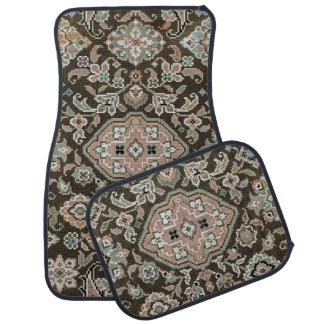 Vintage Pattern Car Floor Carpet