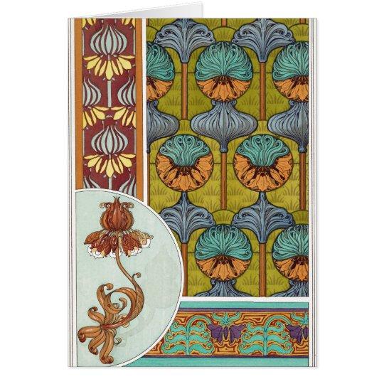Vintage Pattern Card