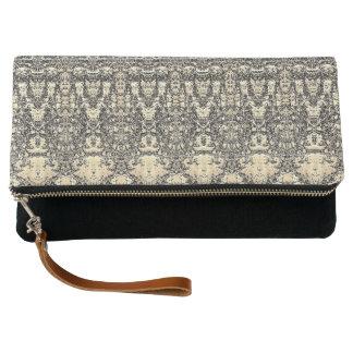 Vintage Pattern Clutch Bag