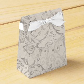 Vintage Pattern Glamour Chic Elegant Party Favor Favor Box