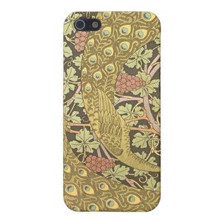 Vintage Peacock Art Nouveau iPhone Cover iPhone 5/5S Covers