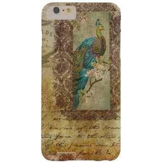 Vintage Peacock Background Phone Case