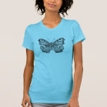Vintage Peacock Butterfly Personalized Butterflies Tees