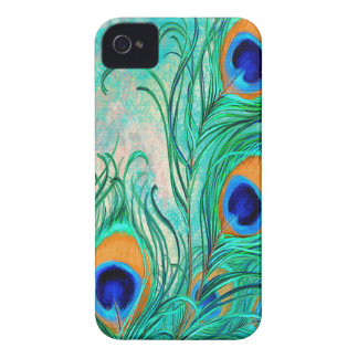 Vintage Peacock Feathers iPhone Case-mate 4 iPhone 4 Case