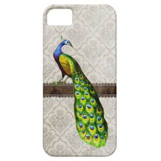 Vintage Peacock Illustration iPhone 5 Case