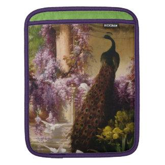 Vintage Peacock iPad Sleeve