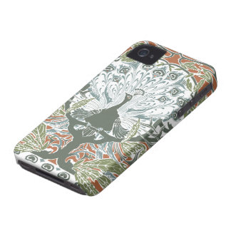 Vintage Peacock iPhone 4 Case