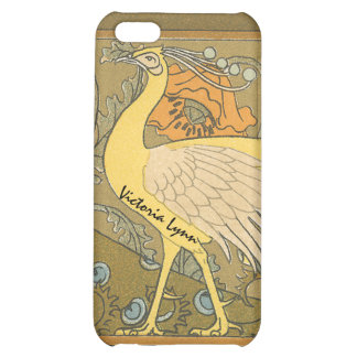Vintage Peacock iPhone Cover Cover For iPhone 5C