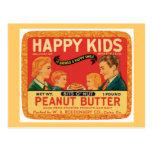 Vintage Peanut Butter Food Product Label