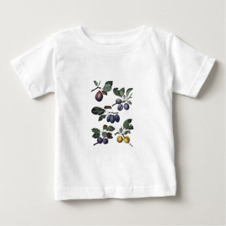 Vintage Pears and Plums Baby T-Shirt